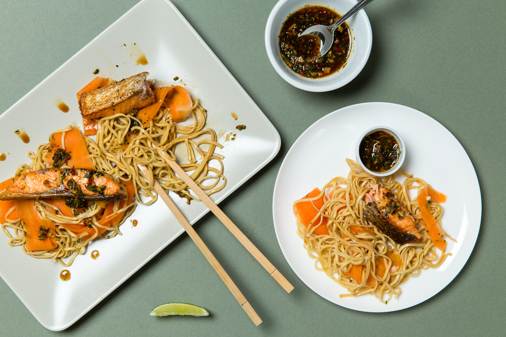 Teriyaki-Salmon-and-Egg-Noodles