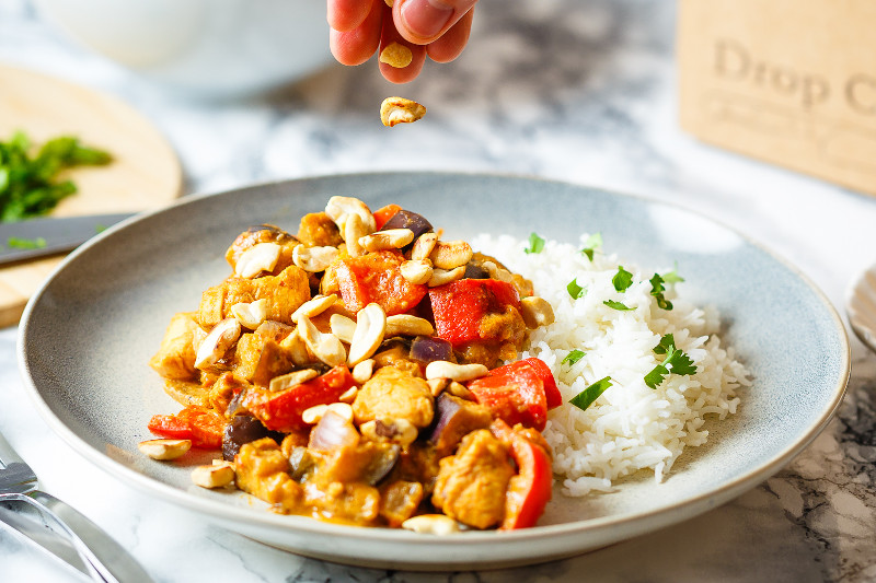 Chicken Massaman Curry with Basmati Rice