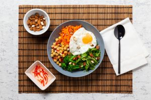 Chickpea _ Egg Buddha Bowl